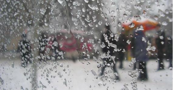 снег в Рыбинске