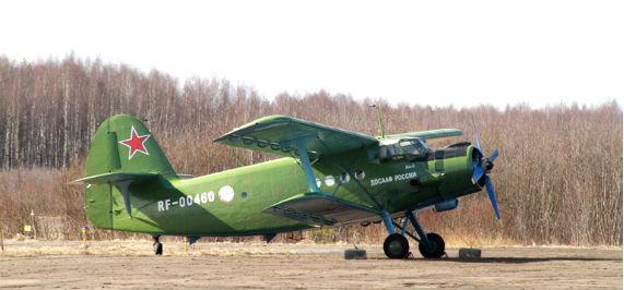 самолет рыбинского аэроклуба