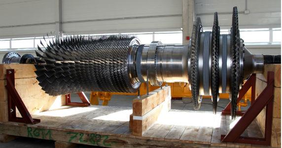 Руссккие газовые турбины в Рыбинске