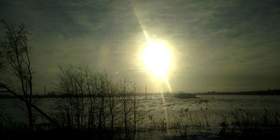 уши у солнца, Рыбинск