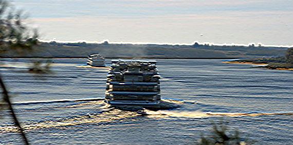 навигация в Рыбинске