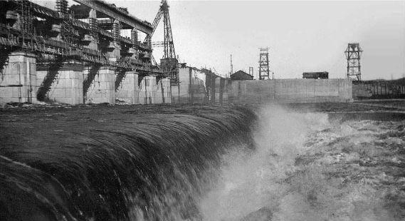 Угличская ГЭС в войну