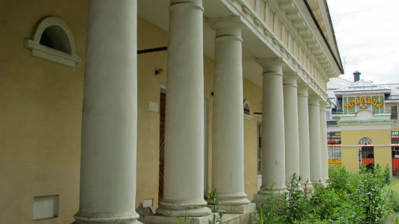 Каретный сарай усадьбы Наумова, Рыбинск