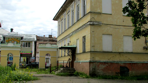 Главное здание усадьбы Наумова, Рыбинск