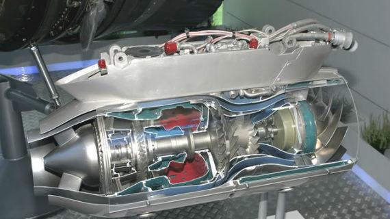 Малоразмерный газотурбинный двигатель 36МТ
