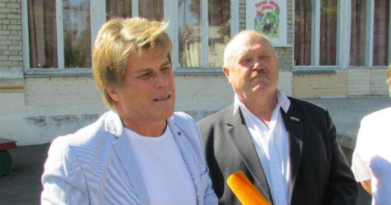 Певец Алексей Глызин и депутат Ярославской областной думы Евгений Ершов