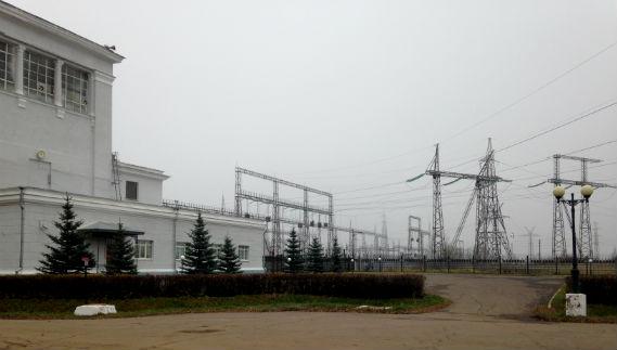 ГЭС в Рыбинске