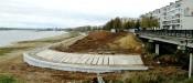 берегоукрепление в Рыбинске