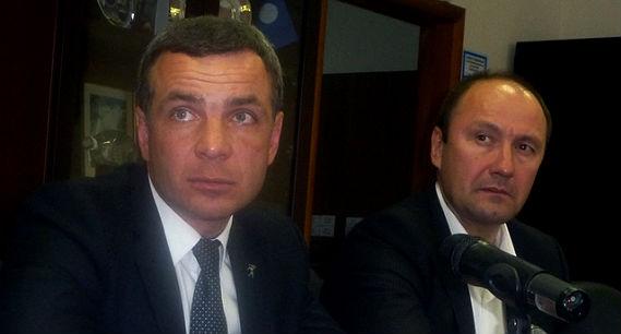 Алексей Малютин, и.о. мэра Ярославля, и его заместитель Игорь Блохин