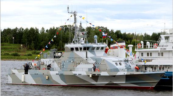 В Рыбинске спущен на воду катер