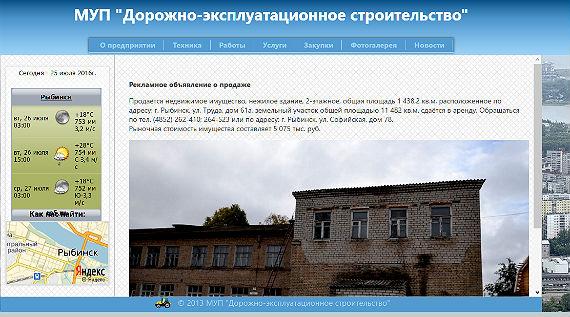 бывшая школа 39 в Рыбинске