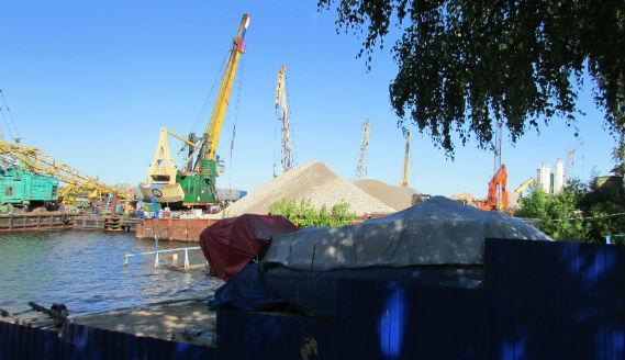 Переборы, Рыбинск, порт МВК