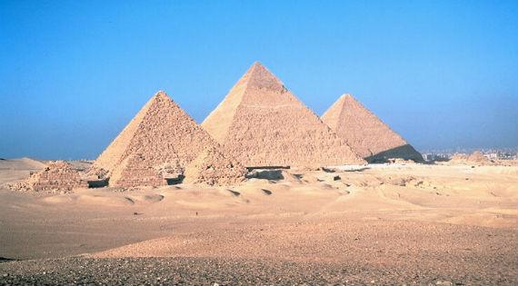 Пирамиды Микерина, Хефрена,  Хеопса в Гизах