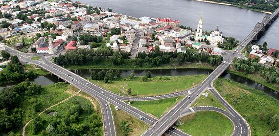 автомобильное движение в Рыбинске