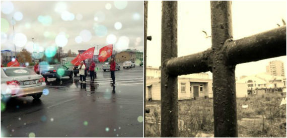 стоянка в Рыбинске