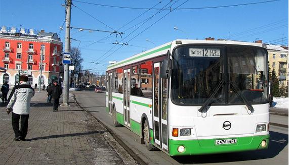 Администрация Рыбинска собирается изменить маршрут автобуса 12