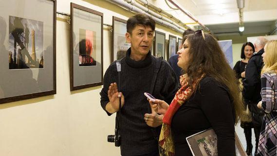 Анзор Бухарский на открытии выставки в Рыбинске