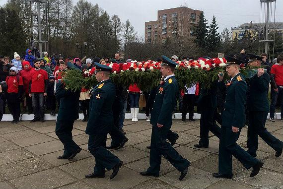 День Победы в Рыбинске 2017