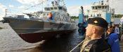 в Рыбинске спустили на воду катер