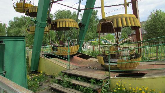 парк в Переборах, Рыбинск