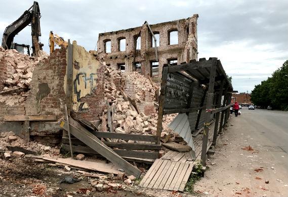исторический Рыбинск