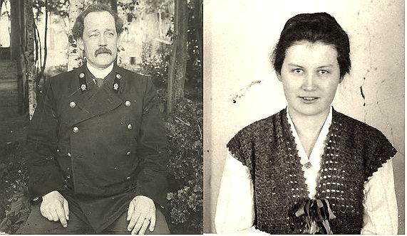 Александр Адольфович Боде и его дочь Зинаида