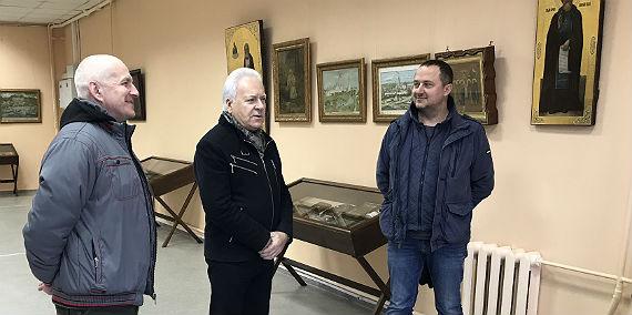 Анатолий Лисицын в Рыбинске