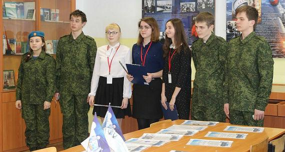 юнармейцы в Рыбинске