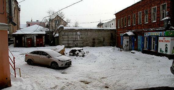парковка в Рыбинске