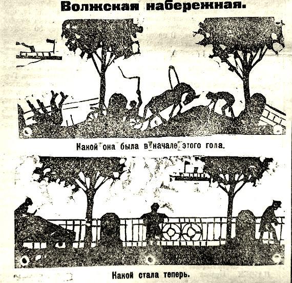 новости Рыбинска прошлого века