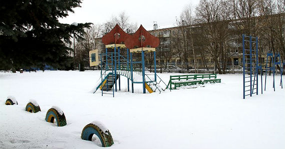 парк в районе Переборы