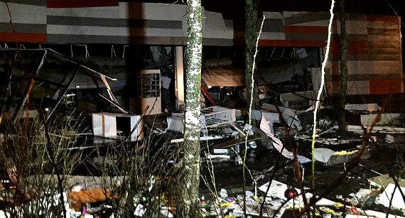 обрушение крыши в Рыбинске
