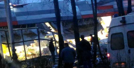 ВРыбинске обрушилась крыша супермаркета