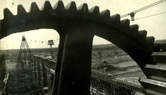 Строительство Угличской ГЭС