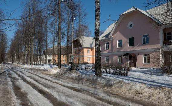 Поселок ГЭС в Рыбинске