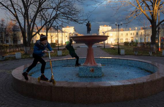 Город Заволжье в Нижегородской области
