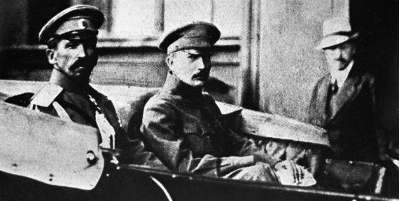 Борис Савинков и Лавр Корнилов